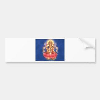Diosa hindú Laxmi Devi Mata Pegatina Para Auto