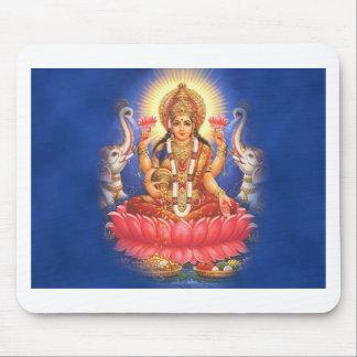 Diosa hindú Laxmi Devi Mata Alfombrilla De Ratón