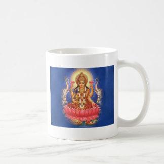 Diosa hindú Laxmi Devi Mata Taza