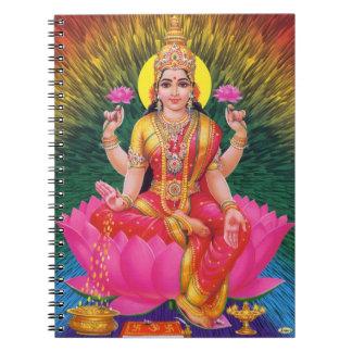 Diosa hindú Saraswati Libretas