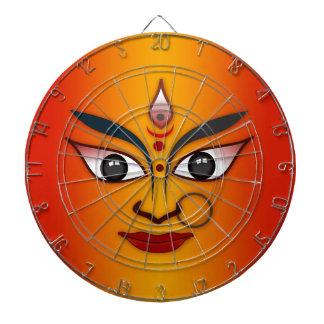 Diosa india de la máscara de la cara fresca de la