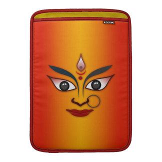 Diosa india de la máscara de la cara fresca de la fundas para macbook air