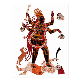 Diosa Kali Tarjetas Postales