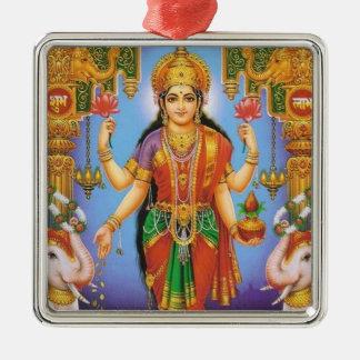 diosa-Lakshmi Ornamentos De Navidad