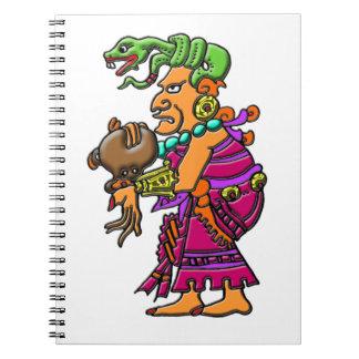 Diosa maya IX Chel Libretas Espirales