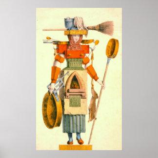 Diosa nacional 1780 póster