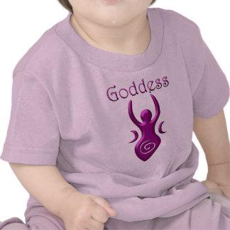 Diosa púrpura camisetas