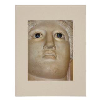 Diosa romana de la estatua antigua de la bella art comunicados personales
