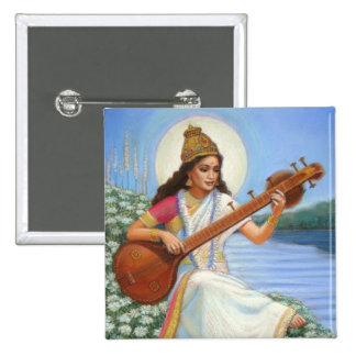 Diosa Sarasvati Pins
