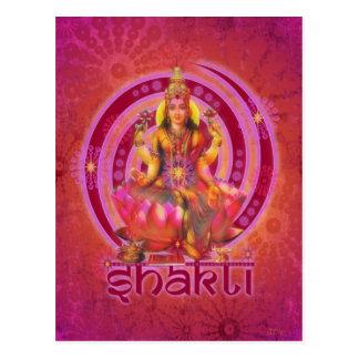 Diosa SHAKTI/LAKSHMI Postales