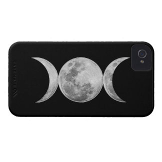 Diosa triple Case-Mate iPhone 4 fundas