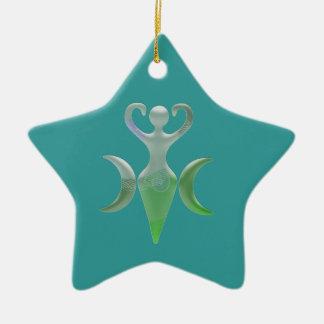 Diosa triple ornaments para arbol de navidad