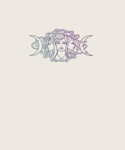 Diosa triple pagana de la luna de Wiccan Camisetas