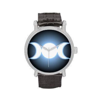 Diosa triple reloj de mano