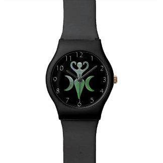 Diosa triple relojes de mano