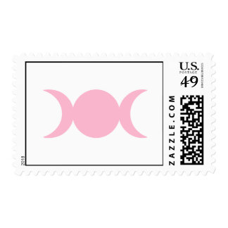 Diosa triple rosa clara sello