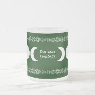 Diosa triple verde tazas