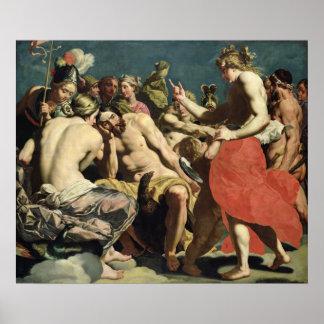 Dioses de Olympus Posters