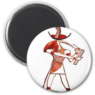 Dioses egipcios Ptah* *Memphian Imán Redondo 5 Cm