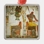 Dioses Osiris y Atum, de la tumba de Adorno De Reyes