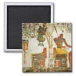 Dioses Osiris y Atum, de la tumba de Imanes
