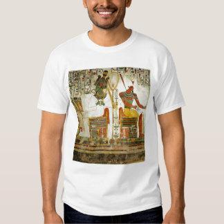 Dioses Osiris y Atum, de la tumba de Playera