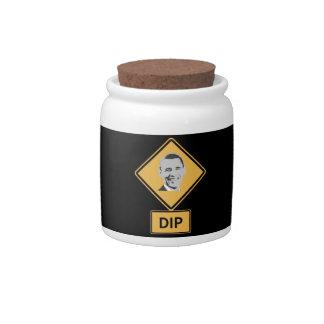 dip candy jars