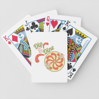 Dip & Dine Bicycle Playing Cards