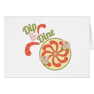 Dip & Dine Greeting Card