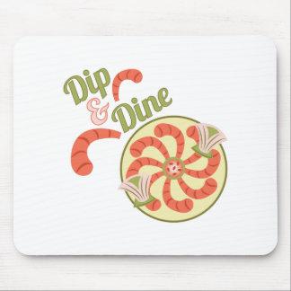 Dip & Dine Mouse Pad