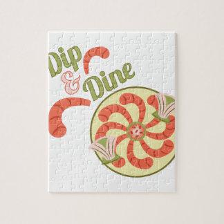 Dip & Dine Puzzles