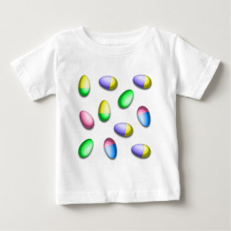 Dip Dyed Easter Eggs Baby T-Shirt