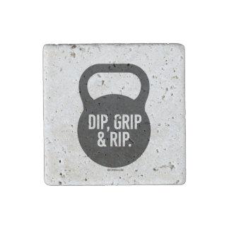 Dip, Grip & Rip Stone Magnet