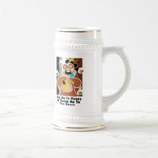 Dip Me In Honey 18 Oz Beer Stein