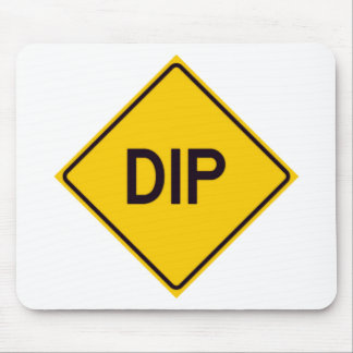 DIP Road Sign Mouse Pad