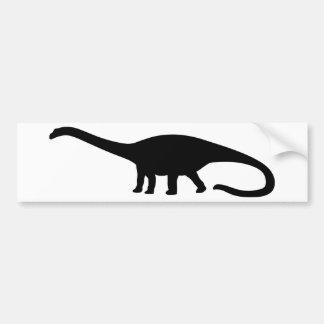 Diplodocus Dinosaur Bumper Sticker