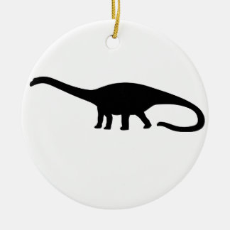 Diplodocus Dinosaur Ceramic Ornament