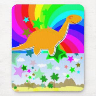 Diplodocus Pixel Dinosaur Mouse Pad