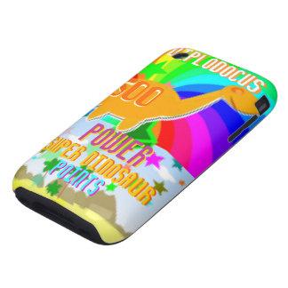 Diplodocus Power Super Dinosaur 500 Points iPhone 3 Tough Cover