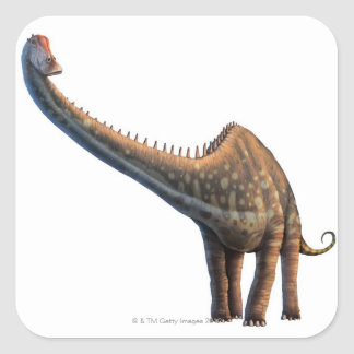 Diplodocus Square Sticker