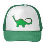 Diplodocus verde gorras de camionero