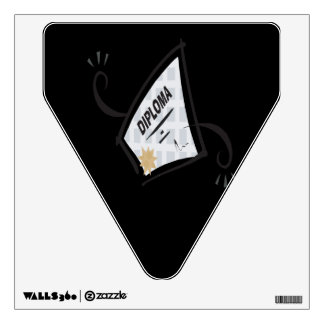 Diploma 5 room decals