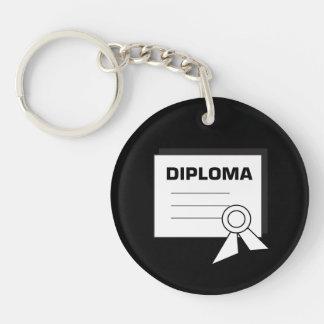 Diploma 6 keychain