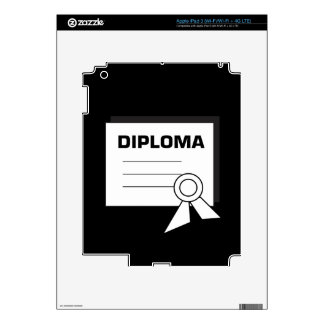 Diploma 6 decals for iPad 3