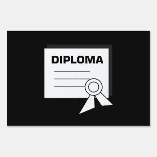 Diploma 6 yard sign