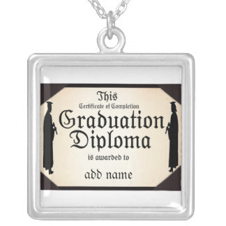 Diploma alto derecho graduado pendientes