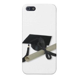 Diploma and Graduation Cap ( Mortar Board ) iPhone SE/5/5s Case