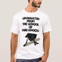 Diploma and Graduation Cap ( Mortar Board ) T-Shirt