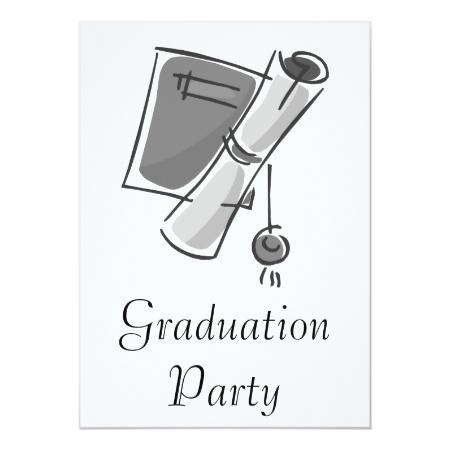 Diploma Custom Invites