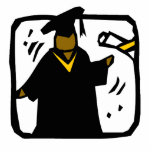 Diploma de recepción graduado (1) escultura fotografica
